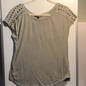 New! Rock & Republic olive green shoulder sequence